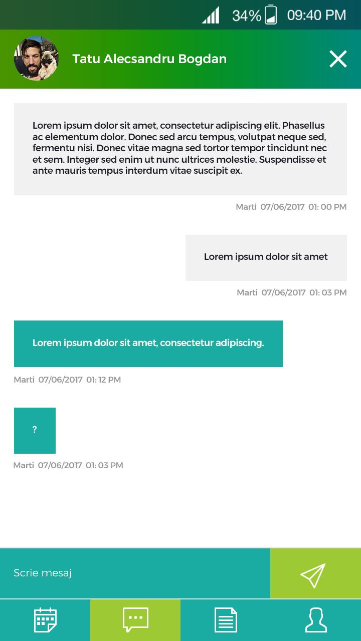 014 mesaj